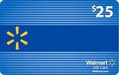 $25 Walmart Gift Card Flash Giveaway 3/5/14