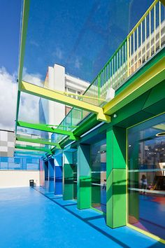 Ecole Maternelle Pajol is a kindergarten in Rue Pajol in Paris | French architecture agency Palatre & Leclère