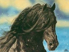 Lesley Harrison art    Ja wat zeg je hier nou op............     dat het verschikkelijk mooi geschilderd is!!!....lb xxx