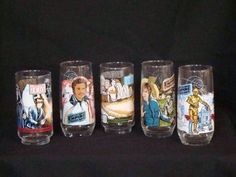 Fast Food Collectible glasses (which we NOW know contain lead!)