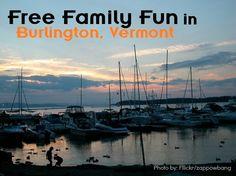 free family fun burlington, vt