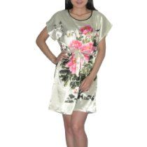 SILK COUTURE Womens Silk Free Flowing Blouse Top / Casual Dress - Multicolor