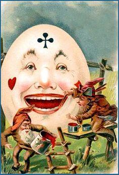 *HUMPTY DUMPTY ~ Alice in Wonderland