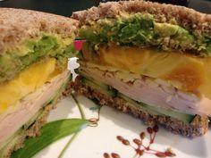 Receta Sandwich de pavo receta sandwich, sandwiches, de pavo, sandwich de