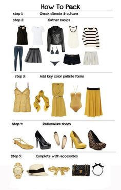 packing tips: how to pack