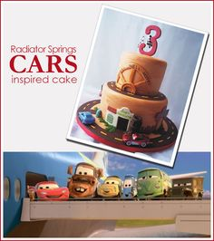 More inspiration for N's 4th Birthday Cake