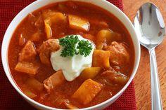 Hungarian Chicken Goulash - The Daring Gourmet