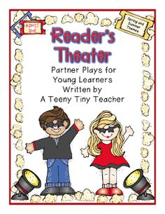Readers Theater Fun! I want to give these a try! I think my kiddos would love this!