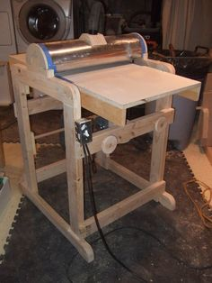 Shop Made Drum Sander