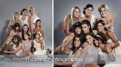 Ottawa group photography - fashion group photographers - girl group photo Studio G.R. Martin