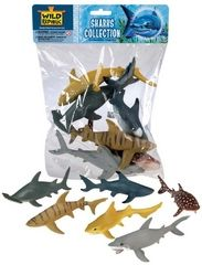 Sharks Bag at theBIGzoo.com, a toy store featuring 3,000+ stuffed animals.