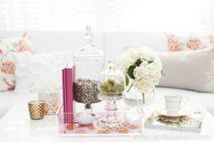 Loving the jars. interior design, decor, lucit tray, bedroom dresser, person lucit, nests, blog, bliss nest, photography