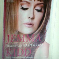 Jemma Kidd make up master class book.  Mod cloth.com