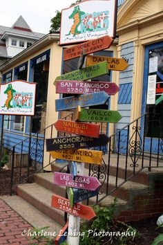 Marthas Vineyard destination signs.