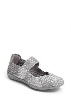 I got these last weekend. They feel like slippers! The silver is way cuter on than the other colors.  bernie mev. 'Cuddly' Sneaker | Nordstrom