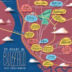 24 Hours in Buffalo, NY! #cityguide #travel #ny #newyork #buffalo