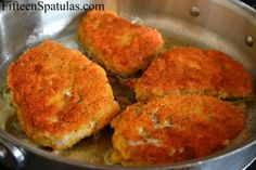 Pan Fried Parmesan Pork Chops