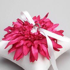 DIY- Wedding Ring Pillow -