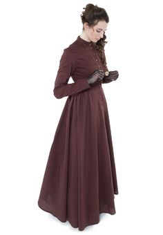 cotton dress, victorian dresses
