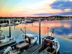 Wellfleet Harbor Wellfleet ,MA. on Cape Cod.
