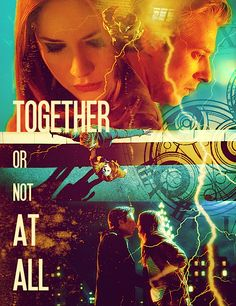 Rory Williams and Amy Pond - Together or not at all. I just watched angels take manhattan. My feels were crazy. Yowza my feels. The afterword!!!!!!!! I also realized that rory MADE his hair like the doctor in season seven. When he and Amy were about to get divorce. He wanted to show he could be a doctor too.