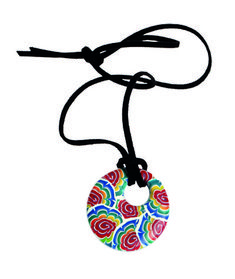 Rainbow Polymer Pendant - Making Jewellery Magazine - Crafts Institute