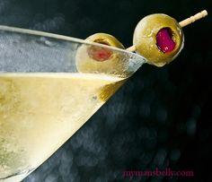 dirty vodka martini...yummo