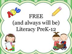 Group Board for free reading and writing products PreK-12