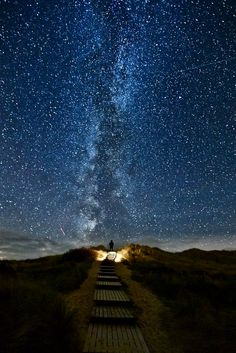 Every two years in Ireland, between June 10-18, stars aline with this trail; Heaven's Trail. So I'd like to go there. & maybe my proposal could be there too.