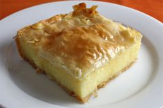 Galaktoboureko (Greek Custard Pie)