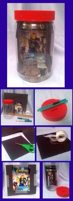 DIY Dream Bank.  Put a picture of something to save for inside the bank.  Craft project to use in conjunction with Tiger and Bear elective 13, and Webelo Family Member Pin - Requirement 3.    #Scouting #Scouts