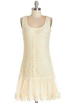 $75 To a Teaologist Dress. As a professional chai connoisseur, every day is like your own mini tea party. #cream #prom #modcloth
