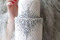 Glamorous wedding cake idea, weddings, wedding cakes, artsi cake