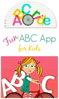 Fun ABC App for Kids~Avokiddo ABC Ride...includes 26 interactive scenes that involve logic, letters, sounds, spelling, challenging vocabulary, and more.  #ad