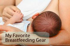 Eco-novice: Eco-novice's Favorite Breastfeeding Gear