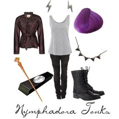 """""""Nymphadora Tonks"""" by character-inspired-style on Polyvore"""