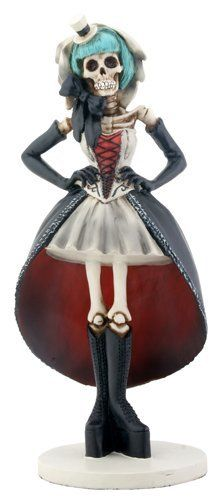 Dysfunctional Doll Day of the Dead #Gothic Club Girl Statue Dia De Los Muertos Figure : For The Home