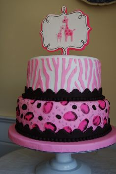 safari baby showers pink baby showers and baby shower cakes