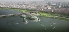 Seoul Floating Islands / Haeahn Architecture   H Architecture