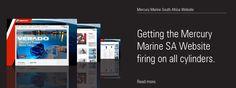 Mercury Marine SA Website by One Part Scissors