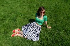 Tilly and the Buttons: Picnic Blanket Skirt