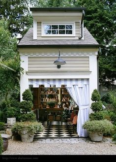 the most amazing back yard shed ever!!