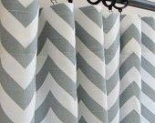 Curtains? curtains, chevron curtain