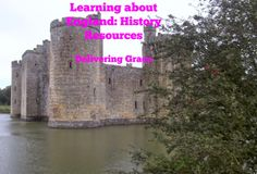 delivering grace: 5 days of learning about England: history resources
