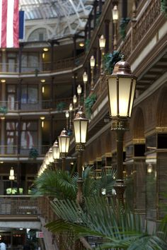 Lights, The Old Arcade - Cleveland Architectural Details by kcolwell, via Flickr