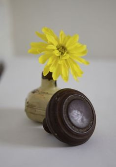 Great use for old door knobs