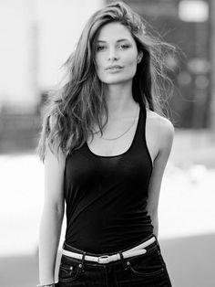 Italian model Alessia Menozzi