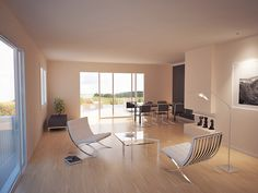 Creating open spaces and ensuring baseboards are visible are important aspects of home staging. #homestaging