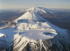 Mount Tongariro (New Zealand) sits in a close volcanic cluster with Mount Ngauruhoe and Mount Ruapehu