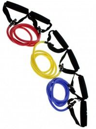 Valeo Resistance Tube Kit- Great fitness tools! $24.99 at Hibbett Sports #hibbett